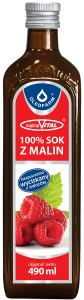 Sok z malin 100% 490ml Oleofarm