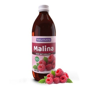 Sok z Malin 100% 500ml Bio NaturAvena