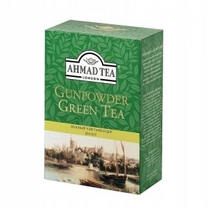Ahmad Tea Herbata Zielona Green Gunpowder 100g