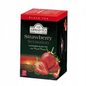 Ahmad Tea Herbata Strawberry Sensation 20x2g