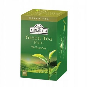 Ahmad Tea Herbata Zielona Green Tea Pure 20x2g