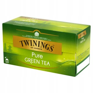 Twinings Zielona Herbata Pure Green Tea 25x2g