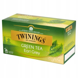 Twinings Zielona Herbata Earl Grey Green Tea