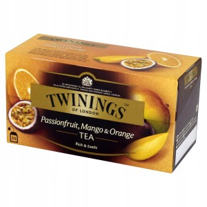 Twinings Herbatka Czarna z Mango Orange 25x2g