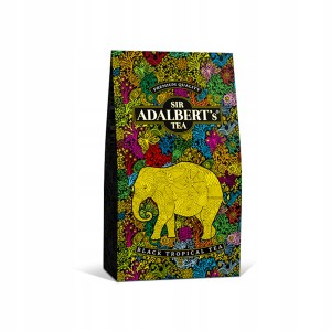 Sir Adalbert'S Black Tropical Tea Liściasta 100g