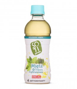 Lemongrass + Mint Tea 340ml Soti Natural