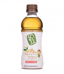 Popcorn Tea 340ml Soti Natural